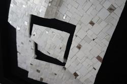 Shiro Piegare 8128 (5) White Black Silve