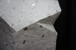 Shiro Piegare 8130 (6) White Black Silve