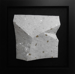 Shiro Piegare 8130 (1) White Black Silve