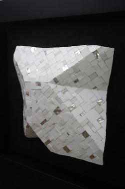 Shiro Piegare 8127 (4) White Black Silve