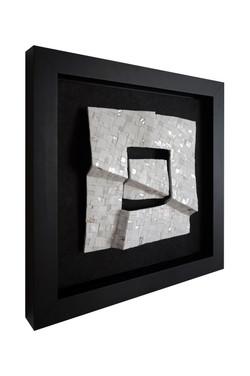 Shiro Piegare 8128 (2) White Black Silve