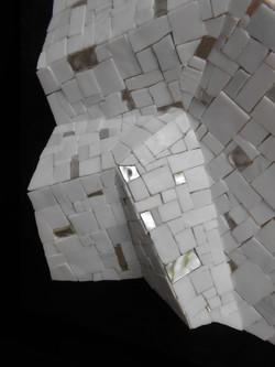Shiro Piegare 7181 (4) White Black Silve