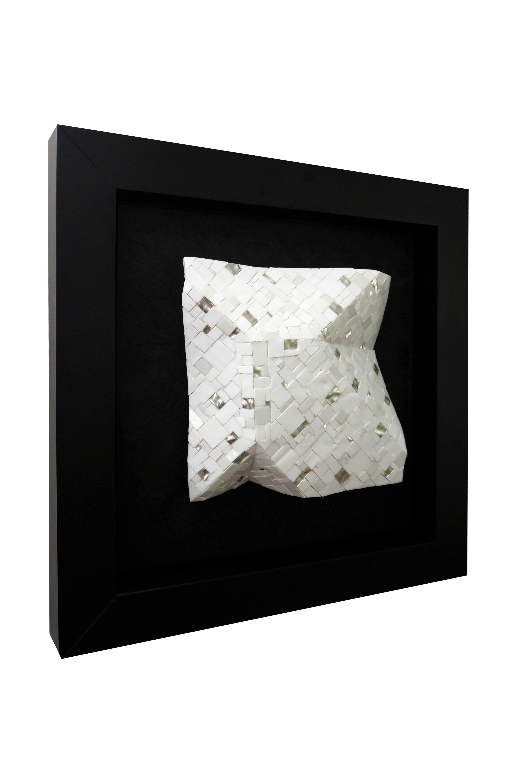 Shiro Piegare 8127 (2) White Black Silve