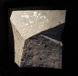 Shiro Piegare 8130 (7) White Black Silve