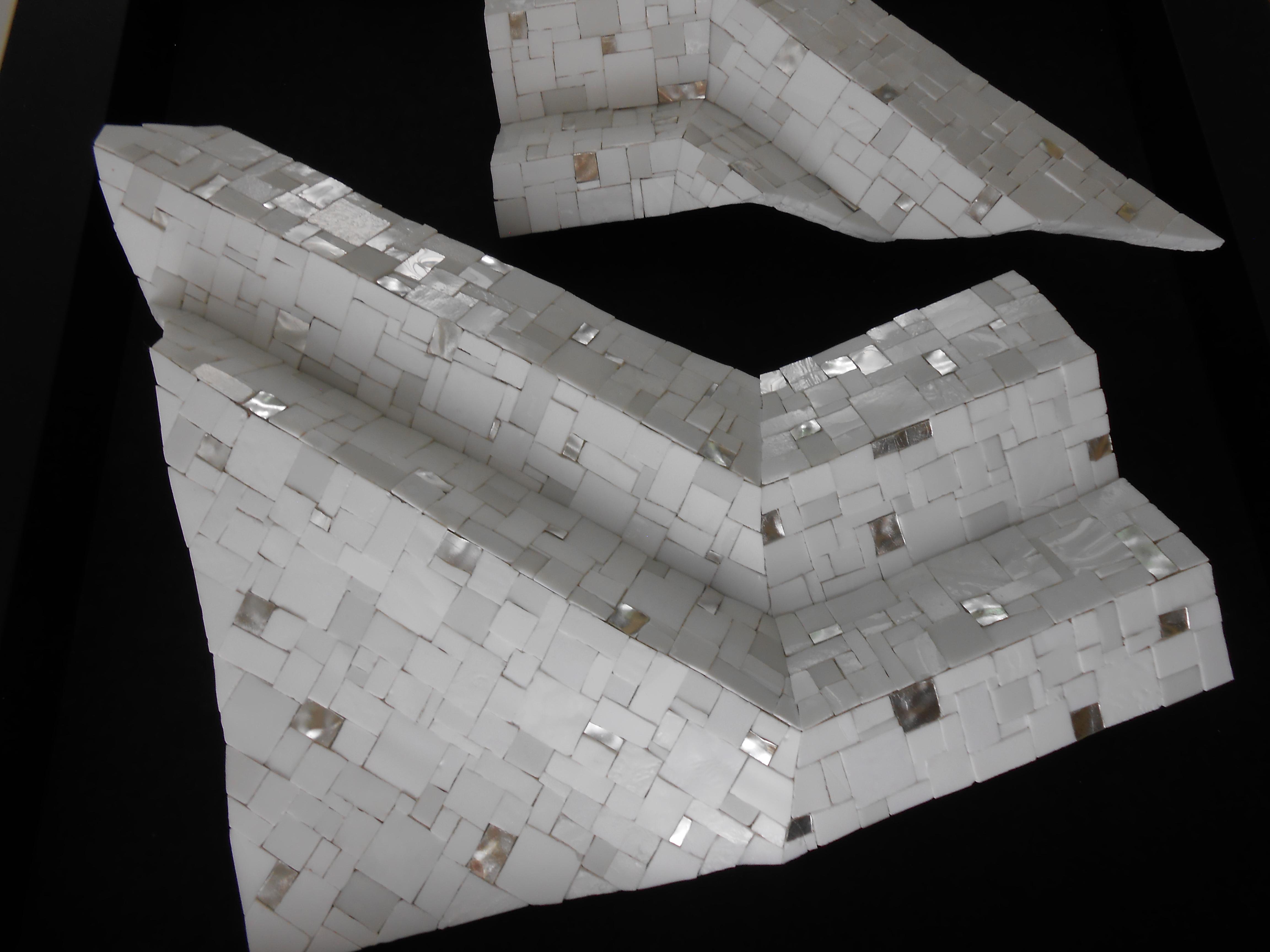 Shiro Piegare 8129 (5) White Black Silve