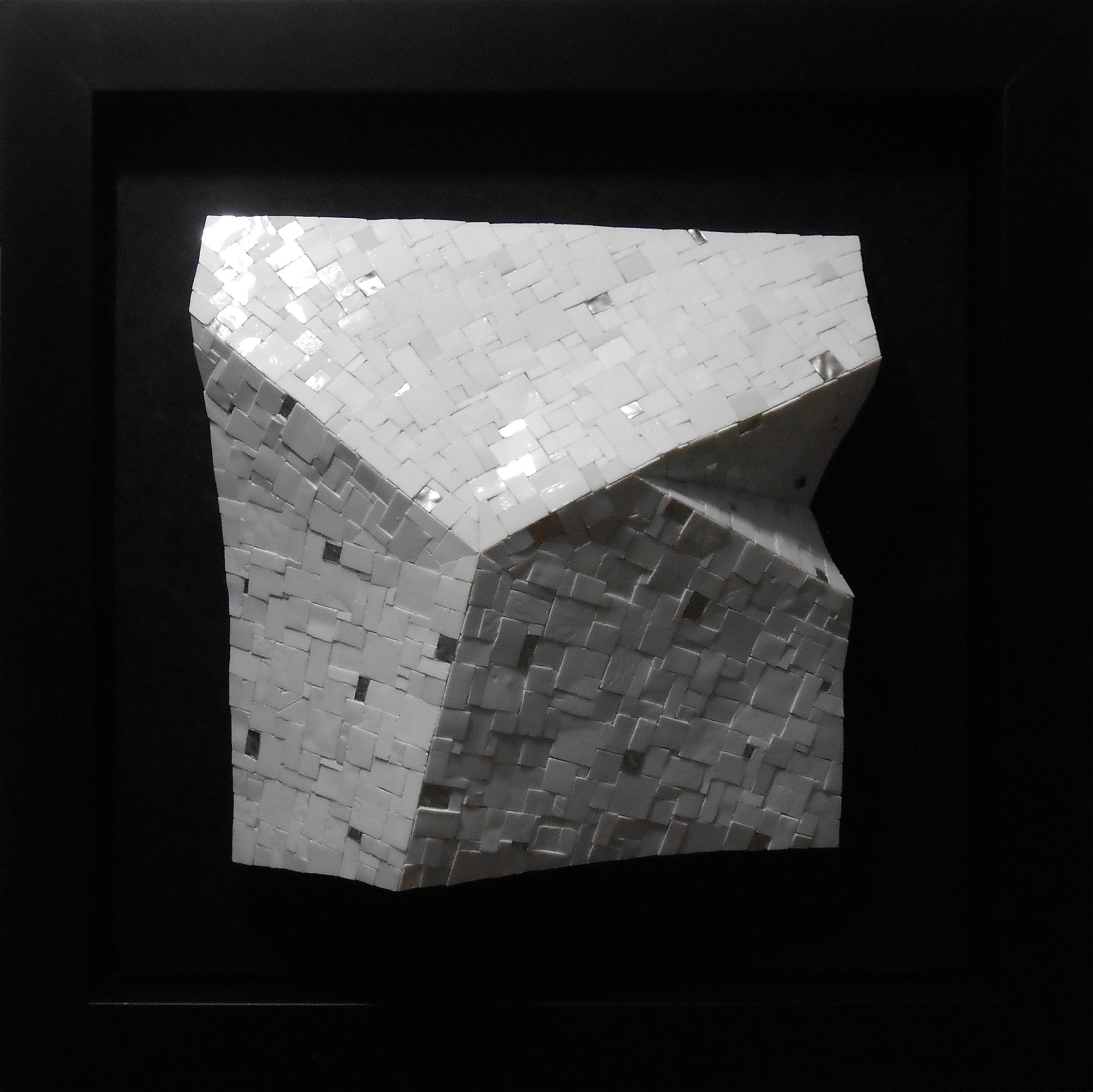 Shiro Piegare 8130 (2) White Black Silve