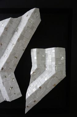 Shiro Piegare 8129 (4) White Black Silve