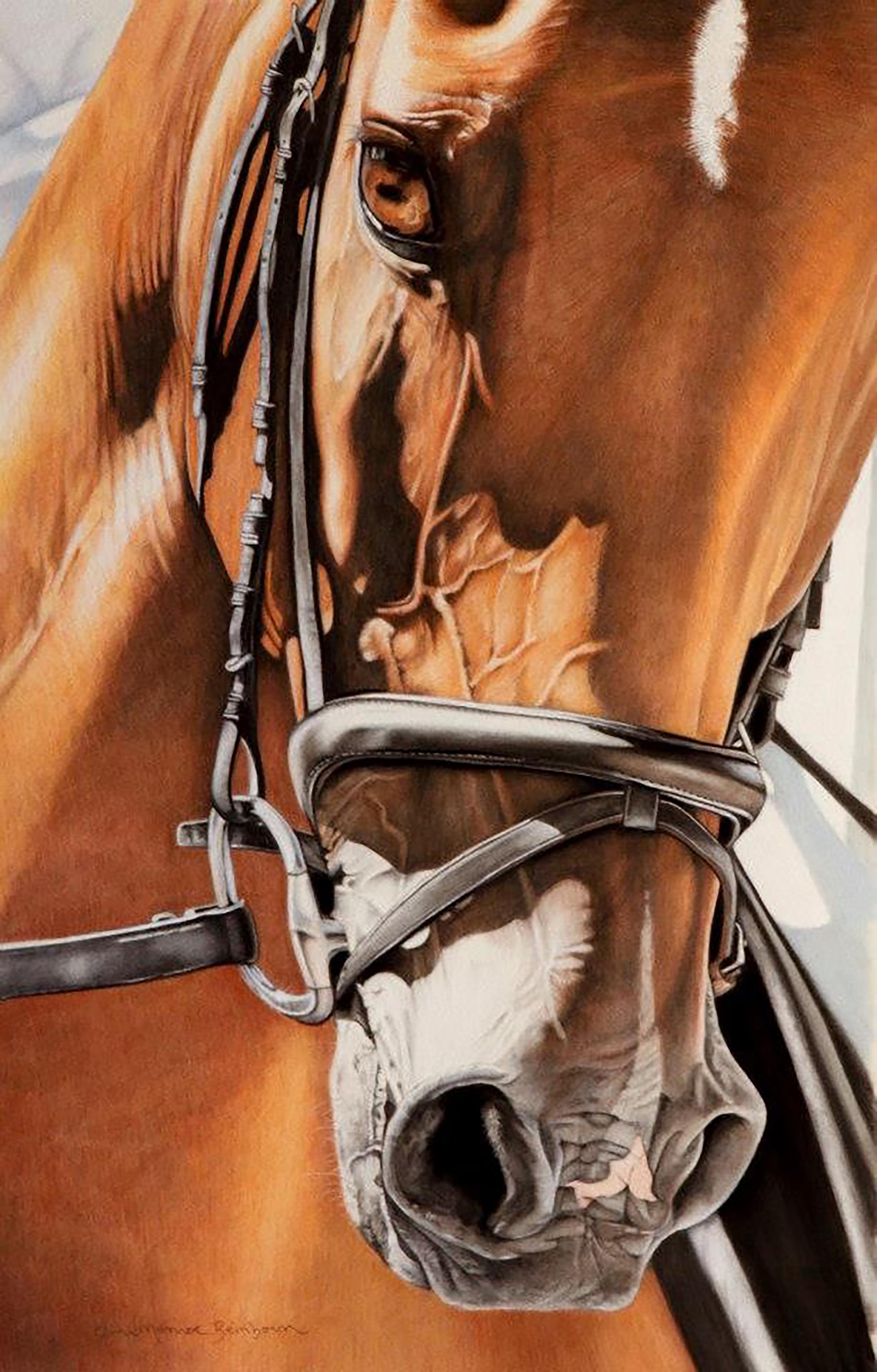 'Dressage and Details' Pastel 13(1)