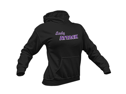 Customized Lady Attack Hoodie - with player name & number
