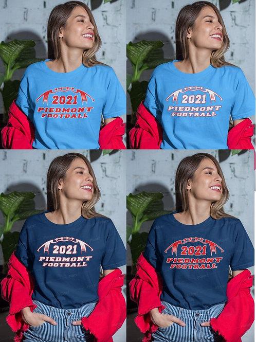 2021 Piedmont Panther Football T-Shirt