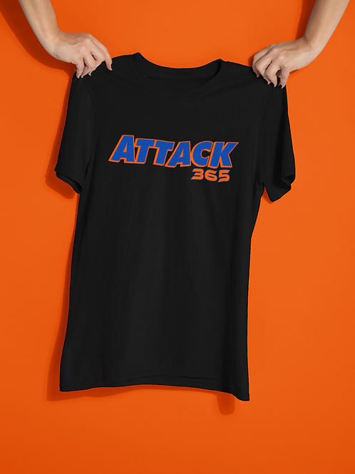 Attack 365 Cotton T-Shirt