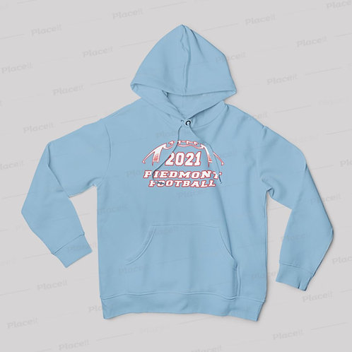 2021 Piedmont Panther Football Hoodie