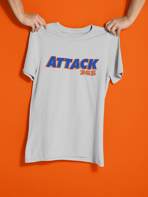 Customized Attack 365 Cotton T-Shirt