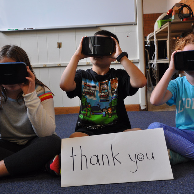 Google Expedition at the Elementary Schools -