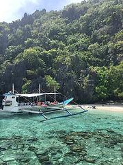 Shimzu Island on Tour A of the El Nido Island Hopping Tour on El Nido, Palawan
