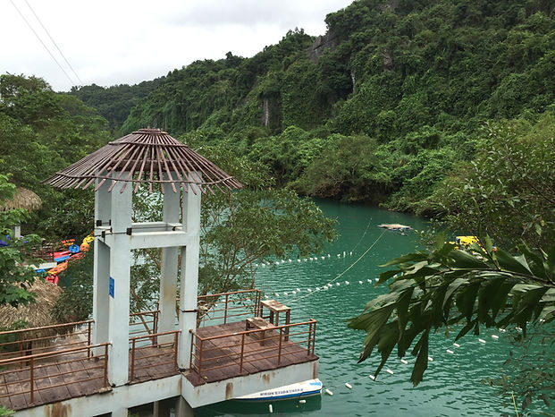 The Waterpark at Dark Cave in Phong Nha National Park, Vietnam