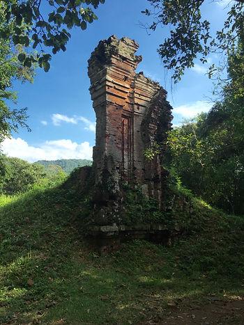 Ruins at My Son Sanctuary near Hoi An Vietnam