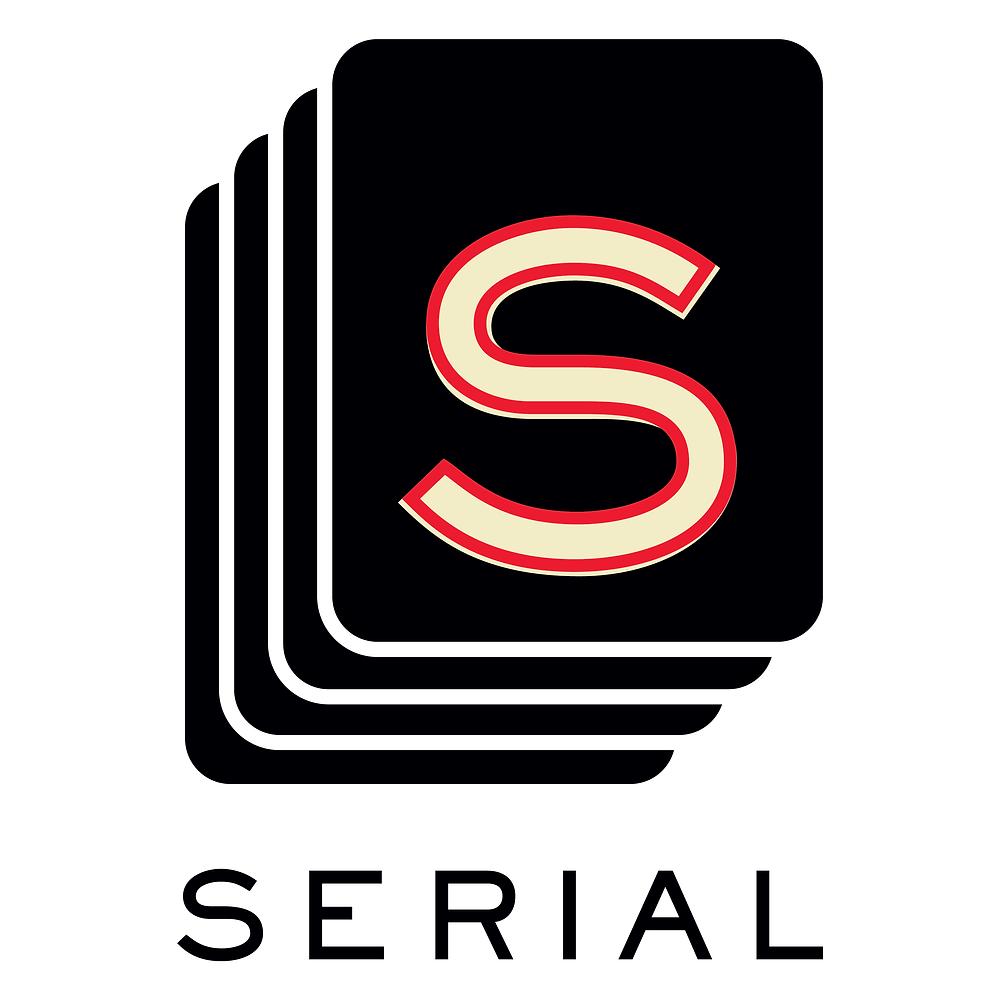 Serial Podcast logo from NPR public radio season 1