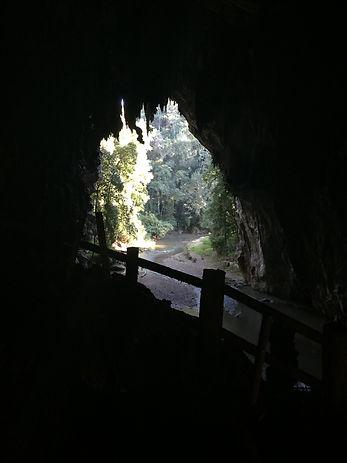 Tham Lot cave in Pai Thailand