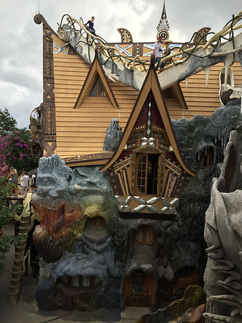 The Crazy House in Dalat Vietnam