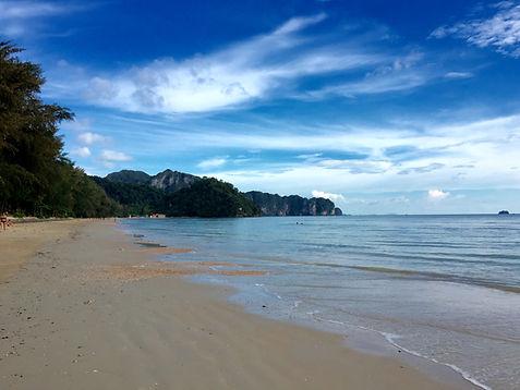 Railay Beach in Krai, Ao Nang, Phuket, Thailand