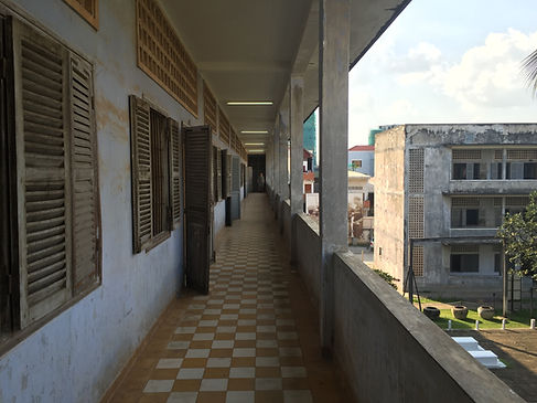 S-21 Prison in Phnom Penh Cambodia