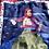 Silk scarf depicting Greek Revolution hero, Laskarina Bouboulina