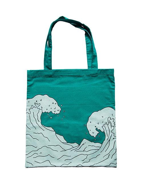Waves tote bag buy online