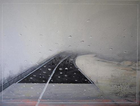 Oil on canvas by Stella Christofi