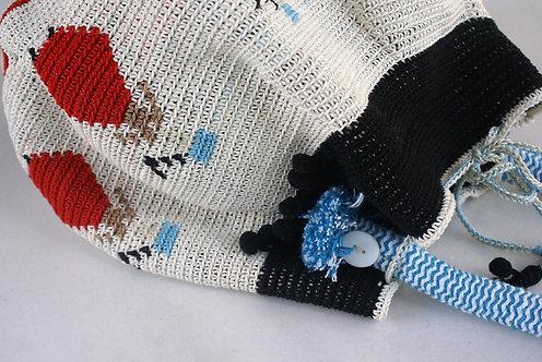 Greek Revolution Crochet Bag