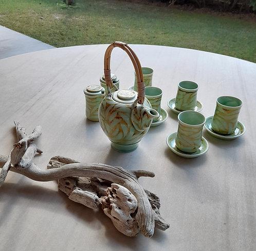 Unique Porcelain Tea Set