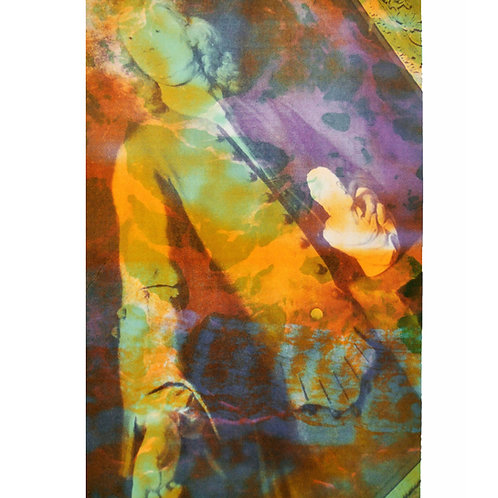 contemporary Greek art silkscreen print Dimosthenis Bogiatzis