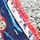 Silk scarf depicting Greek Revolution hero, Laskarina Bouboulina 2