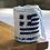 Greek Flag Tiny Crochet Pouch Bag