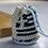 Greek Flag Tiny Crochet Pouch Bag 2