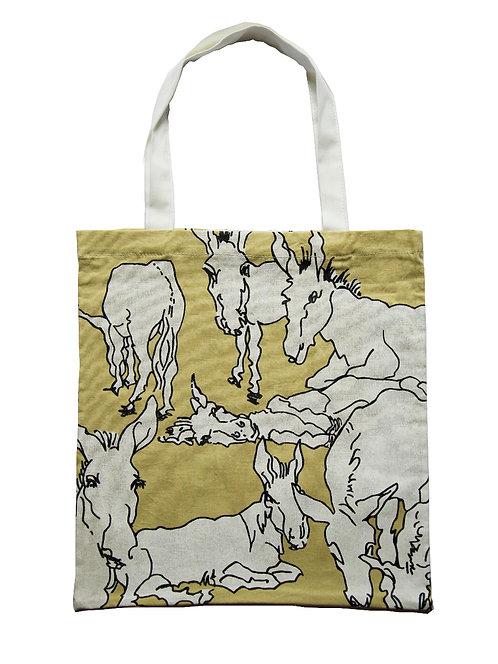 Donkeys tote bag buy online