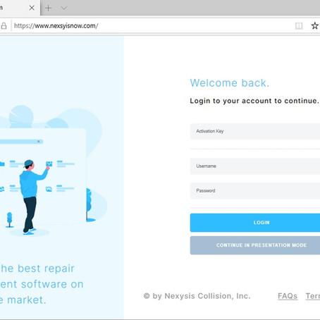 Nexsyis Collision Releases NexsyisNow™ Web Application