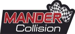 Mander Collision Logo