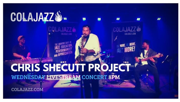 ColaJazz LIVEstream: Chrius Shecut Project