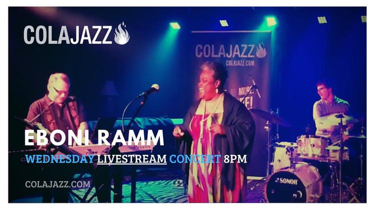 ColaJazz LIVEstream: Eboni Ramm Quartet