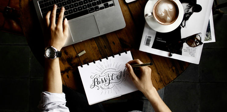 los hombres la escritura