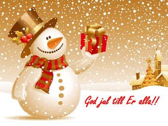 God Jul från oss på MIB!