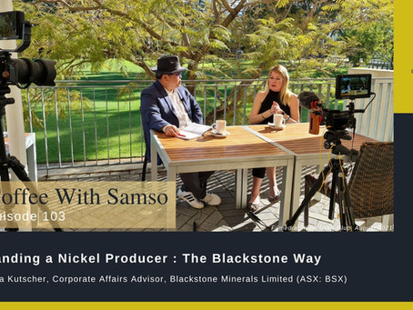 Branding a Nickel Producer: The Blackstone Way.