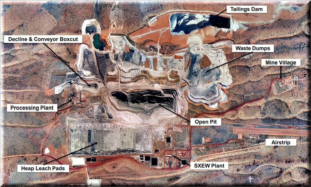 Figure 5: Nifty Copper Mine site layout (source: Cyprium Metals Limited) Samso Insights