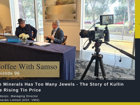 Venture Minerals Has Too Many Jewels - The Story of Kulin and the Rising Tin Price
