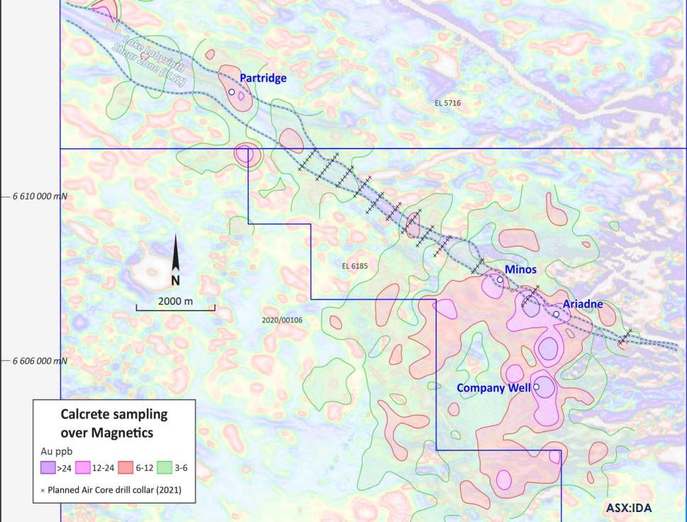 Location of the Lake Labyrinth Shear Zone (LLSZ)