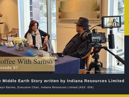 The Middle Earth Story written by Indiana Resources Limited