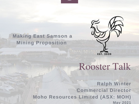 Making East Samson a Mining Proposition - Moho Resources Limited (ASX:MOH)