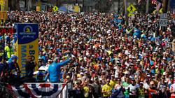 Lacy Competes in the Boston Marathon