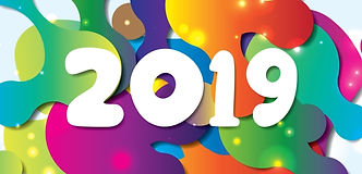 vector-happy-new-year-2019-with-colorful